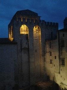 Avignon. Palau dels Papes.
